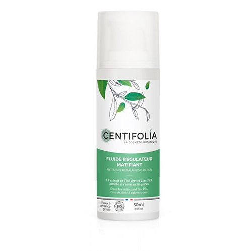 Fluide régulateur matifiant - 50 ml Certifié Cosmebio. Fabrication France. -Cosmenaturbio
