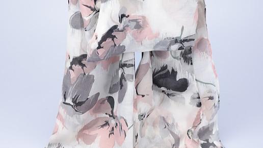 echarpes imprimé floral
