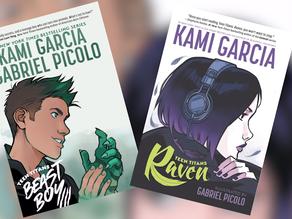 Kami Garcia e Gabriel Pícolo falam sobre a próxima HQ dos Jovens Titãs