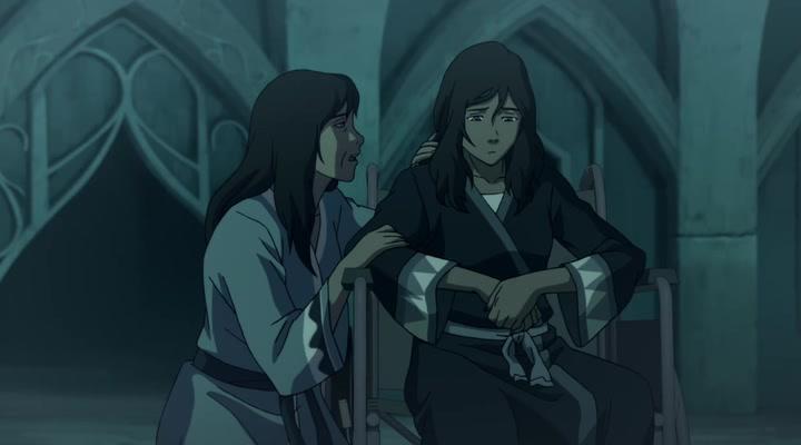 Korra e sua mãe