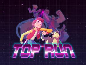 Top Run é um jogo simples e muito estilizado