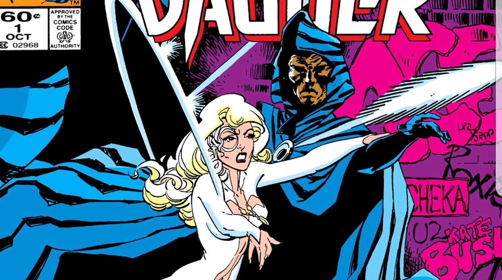 Primeira versão de Manto e Adaga nos quadrinhos