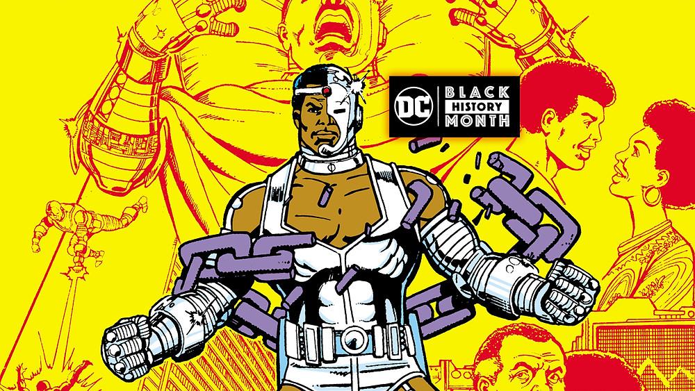 """Dá uma olhada nesse visual oitentista maravilhosa de Ciborgue em """"Contos dos Novos Titãs"""""""