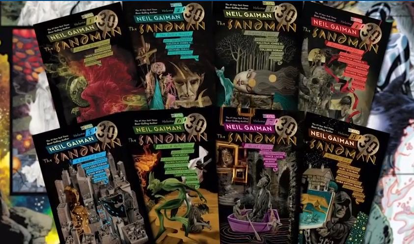 Edição especial dos quadrinhos de Sandman