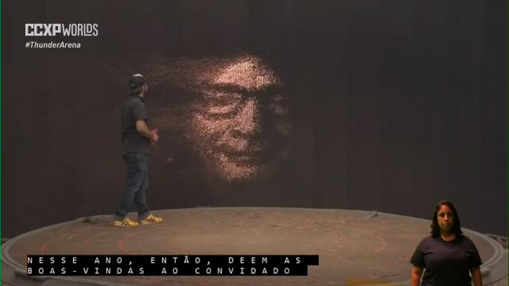 Neil Gaiman começou o painel da CCXP como um verdadeiro Sandman