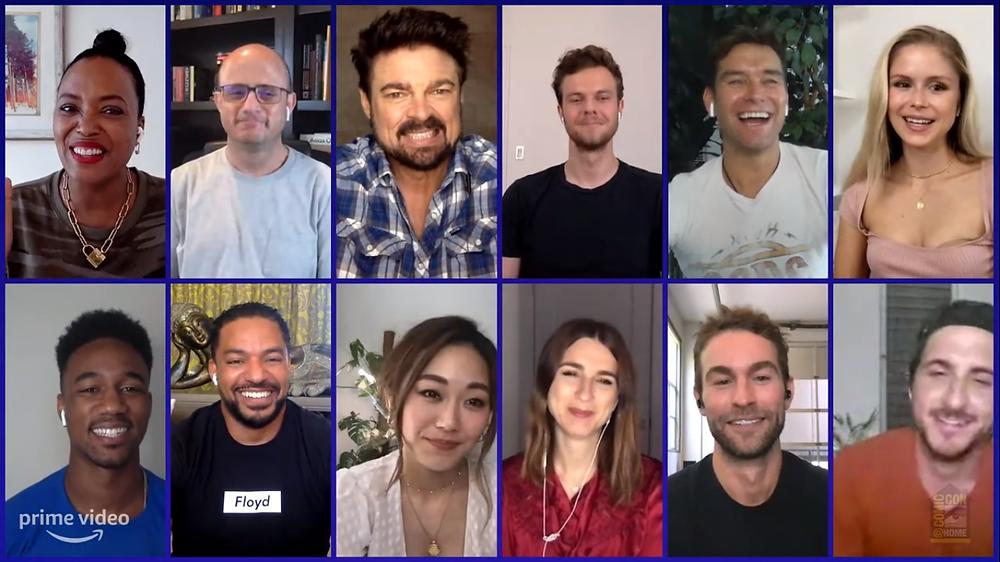 Atores de The Boys falam sobre a segunda temporada da série em painel da San Diego Comic-Con