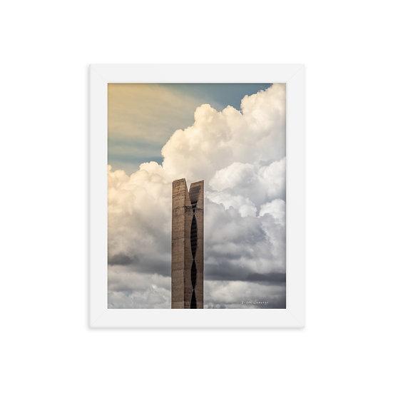 Pomball #1 framed