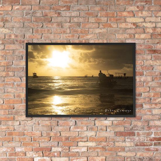 JANGADEIRO  #1 framed