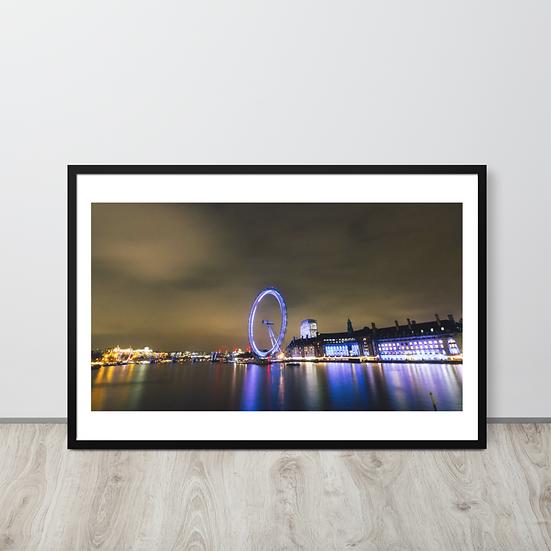 Luzes de Londres - Moldura