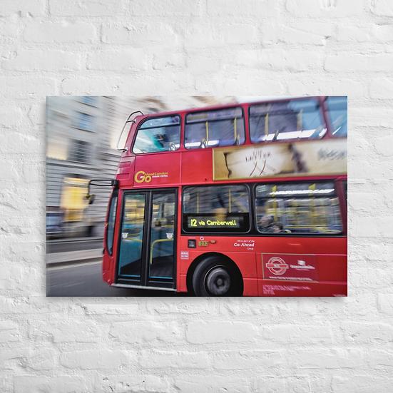 Double decker bus - Canvas