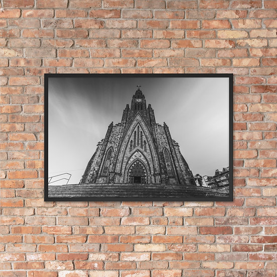 Catedral Canela Framed