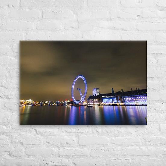 Luzes de Londres - Canvas