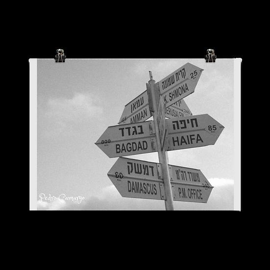 Destination Poster