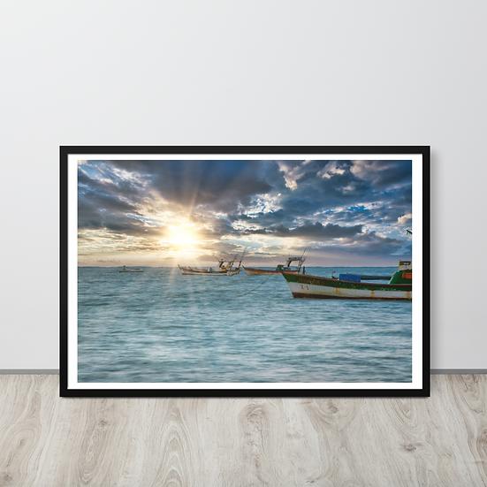 Barcos #72 - Moldura