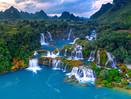 141x71 cm Ban Gioc Waterfalls, Vietnam D