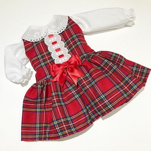 Tartan Dress & Shirt
