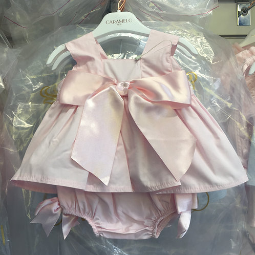Pink Bow 2peice Outfit