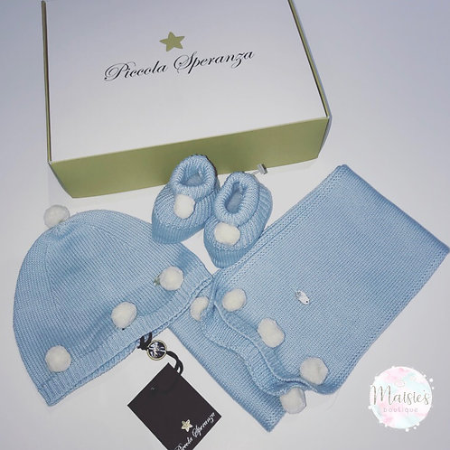 Piccola Speranza Baby Boys Gift Set