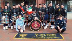St. Patrick's Day Parade crew