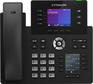 Cytracom is a populare cloud based phone provider. This is their D2 desk phone.