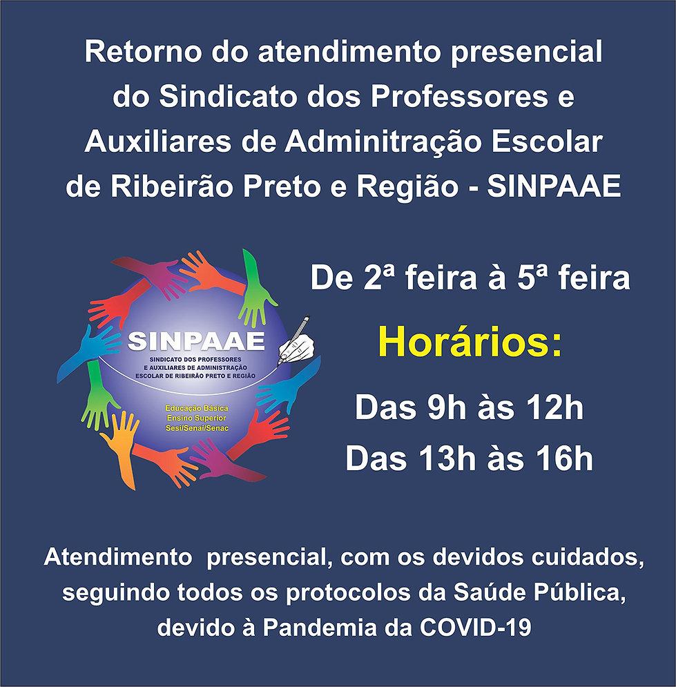 ARTE COMUNICADO - VOLTA DO ATENDIMENTO PRESENCIAL - DIAS E HORÁRIOS.jpg