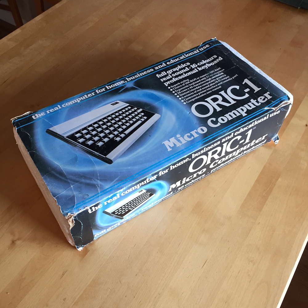 Oric-1 unboxing