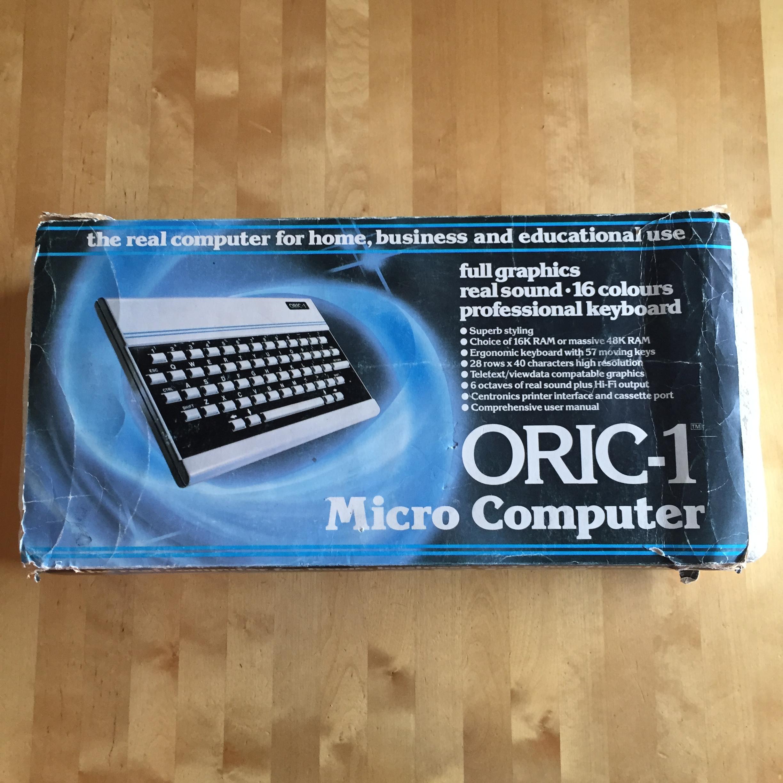 Oric-1 box