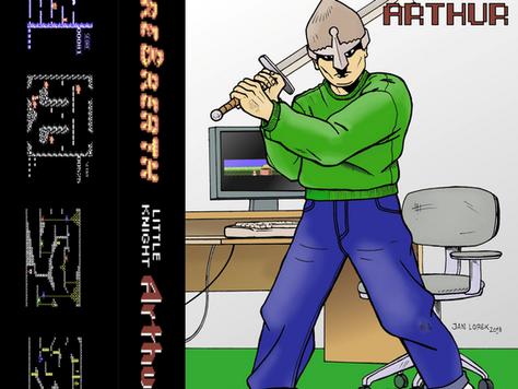 Little Knight Arthur is getting a tape release by K&A plus!