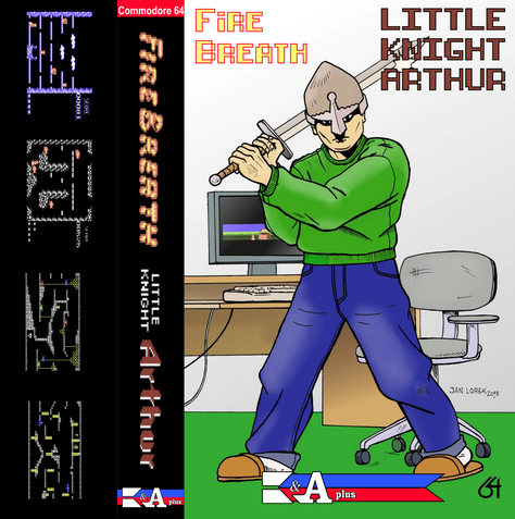 Little Knight Arthur is getting a tape release by K&A plus!