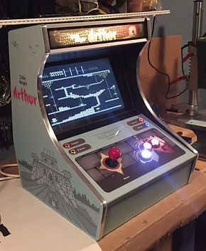 Diy Bartop Arcade Cabinet Part Iv Ready To Play