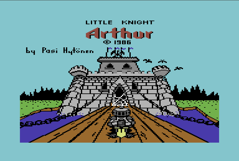 Little Knight Arthur for C64