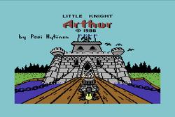 Little Knight Arthur for C64