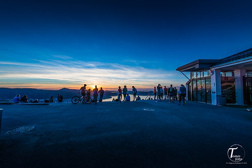 Solnedgang på Fløyen