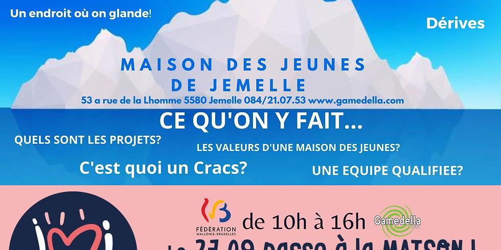 PASSE A LA MAISON le 27 SEPTEMBRE 2020 de 10h à 16h