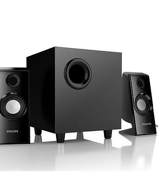 Enceinte Phillips 2.1 Speaker system_edi