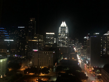 Austin, Texas on Friday 13th during the Harvest Moon and other weird stories from a weird town...