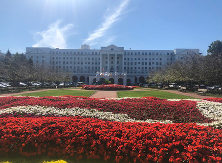 The Glorious and Famous Greenbrier Hotel