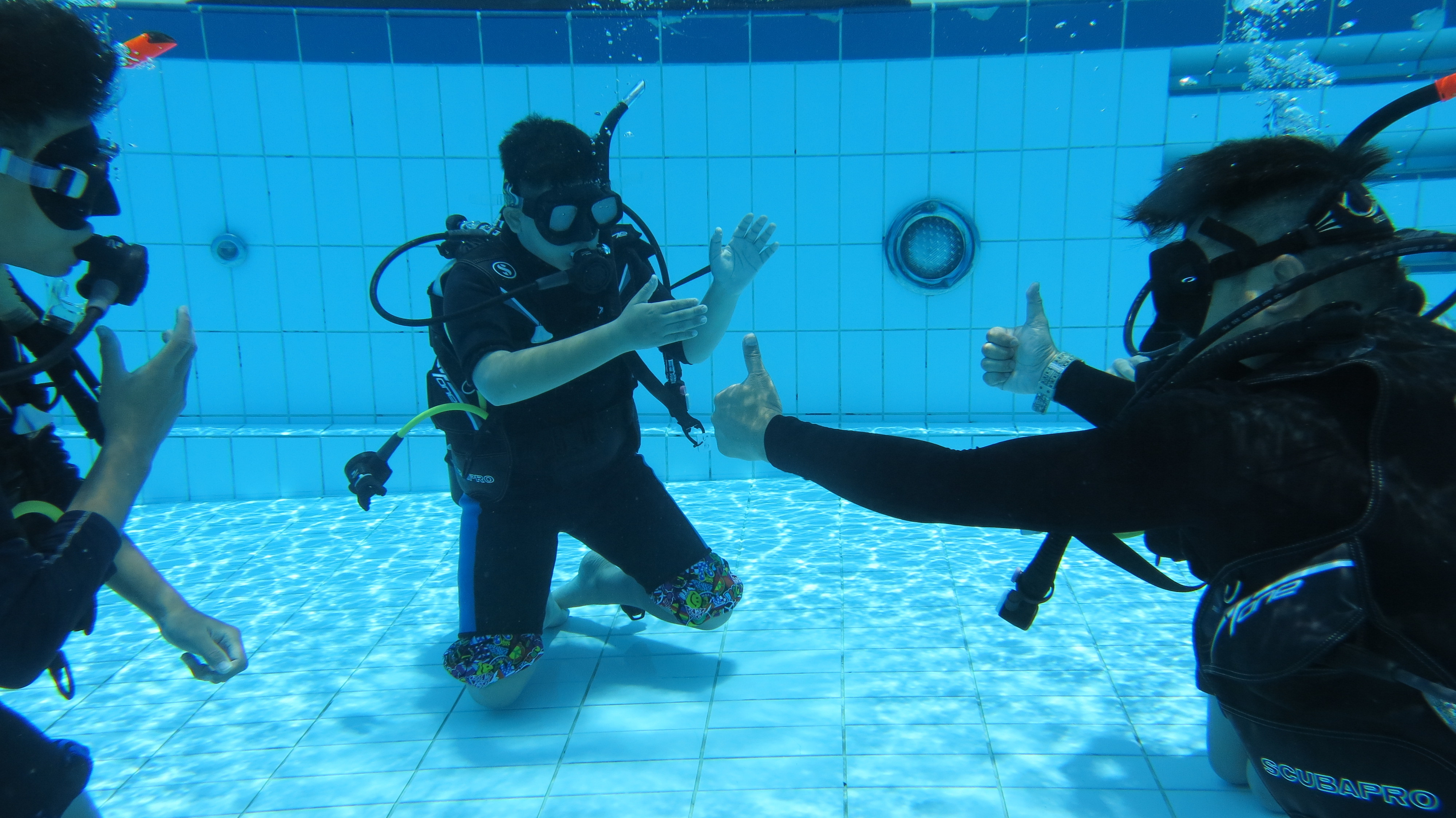Scuba Try-Out for Kids