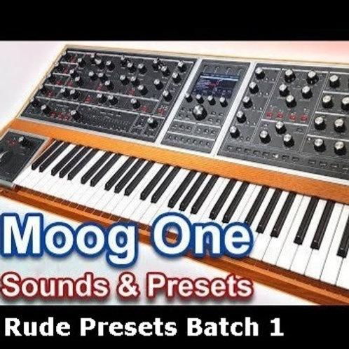 Moog One - Rude Presets Rude1