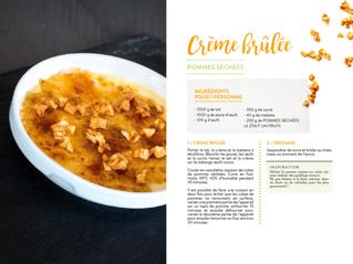 Un classique revisité : Crème brulée à la pomme