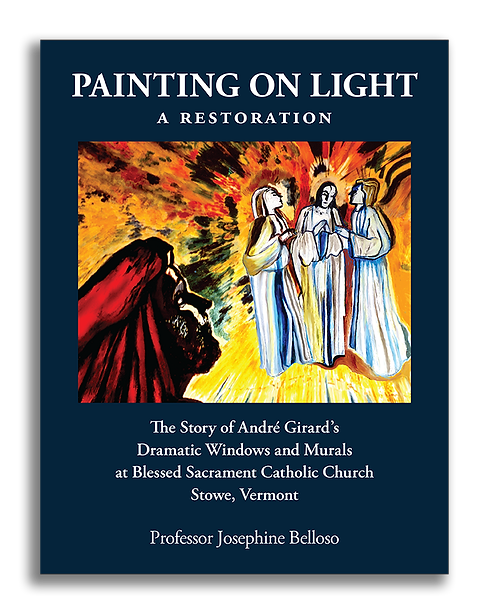 Painting on Light Front Cover