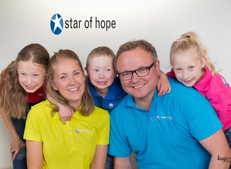 Besøk av Stars of Hope