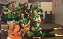 Academy at the Lakes luv Laser Tag