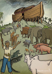 Khmer Style Bible Story Poster