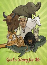 Bible activity book for Khmer children