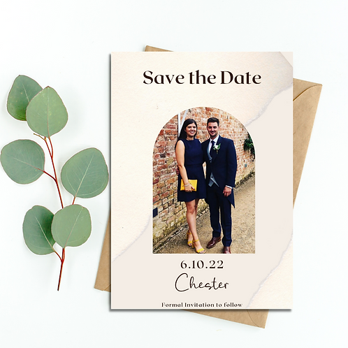 Photograph Save the Date