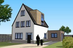 Verbouwing en uitbreiding woning