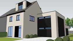 Verbouwing en uitbreiding bestaande woning