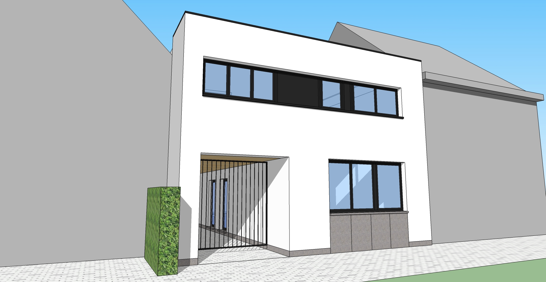 Verbouwing woning tot appartementen