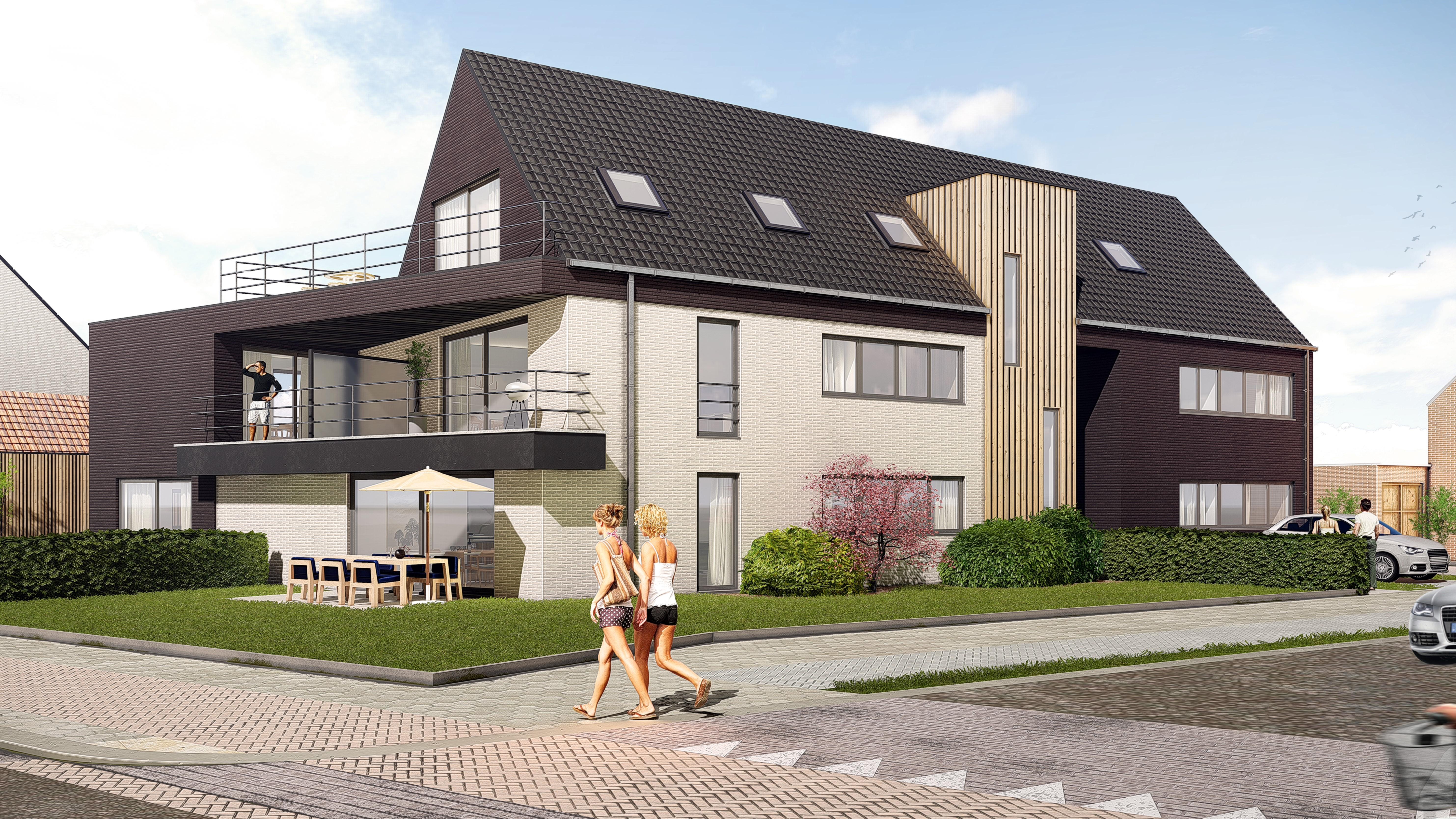 7 nieuwbouw appartementen
